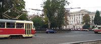 Odessa tram.
