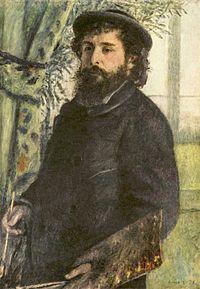 Pierre-Auguste Renoir realizza un ritratto di Claude Monet, 1875