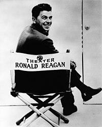 Reagan na fotografii pro General Electric Theater