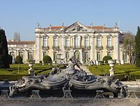 Národní palác Queluz, Queluz.