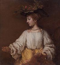 Rembrandts portret van Hendrickje