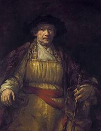 """Zelfportret , 1658. Een meesterwerk, """"het rustigste en grootse van al zijn portretten"""". p28"""