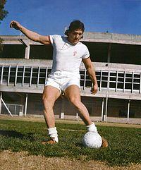 Oscar Bonavena, waarschijnlijk de beroemdste fan van de Huracán.