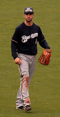 Ryan Braun, winnaar 2007 NL