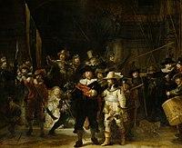 De Nachtwacht, door Rembrandt