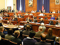 Vergadering van het House Financial Services Committee