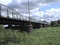 Eine Brücke aus Eisen