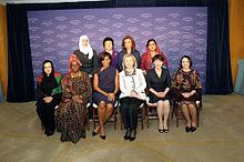 Internationale Vrouwen van Moed Awards 2011