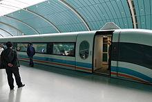 """""""Maglev"""" trein in Shanghai"""