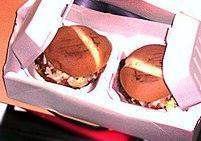 Twee hamburgers