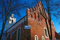 St. Nikolaus ist die älteste erhaltene Kirche in Litauen, vor 1387 erbaut
