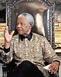 Mandela bezoekt Brazilië in juli 1998
