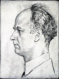 Bildnis des Wilhelm Furtwängler von Emil Orlik