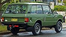 Range Rover 3-deurs wagon (Australië)