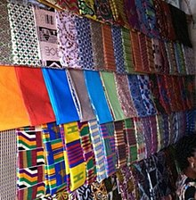 Afrikaanse stoffenwinkel