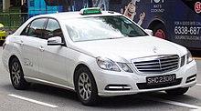 ComfortDelgro LimoCabine Mercedes-Benz E-klasse taxi
