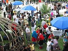 Festiwal Afghan Youth Voices 2011 w Ogrodach Babura w Kabulu
