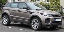 De Range Rover Evoque
