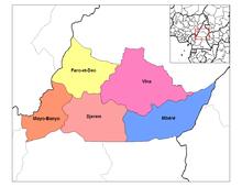 Afdelingen van Adamawa