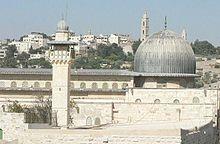 Die al-Aqsa-Moschee, eine heilige Stätte für Muslime