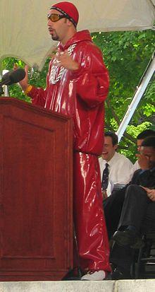 Die fiktive Comicfigur Ali G. Erstellt und gespielt von dem britischen Komiker Sacha Baron Cohen.