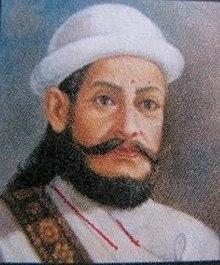 Beroemde Thapa Kaji Generaal die het leger diende van 8 tot 63