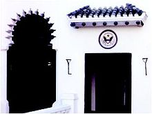 De Amerikaanse Legatie in Tanger, Marokko, is de enige National Historic Landmark op buitenlands grondgebied.
