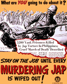 Amerikaanse propaganda tegen de Japanners tijdens de tweede wereldoorlog