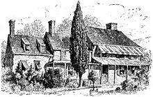 Dům plukovníka Beverleyho Robinsona, Arnoldovo velitelství ve West Pointu.