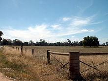 Site van de Kelly-boerderij in Avenel