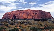Ayers Rock, ook bekend als Uluru