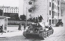 T-34 używany w II wojnie światowej