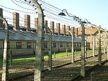 Het nazi-doodkamp Auschwitz