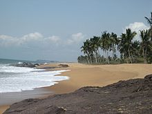 Strand in Ghana