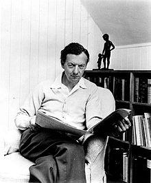 Benjamin Britten, Foto von 1968.