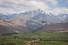 Ośnieżone góry Koh-i-Baba w prowincji Bamyan w Afganistanie.