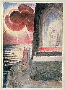 Dante: Purgatorio (door William Blake)
