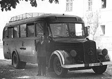 Gaswagen in Hartheim voor het doden van patiënten