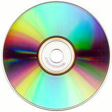 Die Leseseite einer Compact Disc
