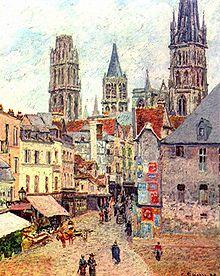 Rouen, rue de l'Épicerie, 1898