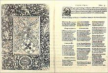 Eerste pagina van Cancioneiro_Geral, editie 1516.