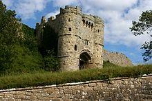 Carisbrooke Castle poortgebouw