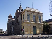 Kathedraal Notre-Dame-de-la-Sède, Tarbes (Hautes-Pyrénées, Frankrijk).