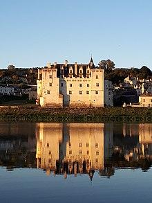 Das Château de Montsoreau ist das einzige Schloss in Frankreich, das im Flussbett der Loire gebaut wurde.