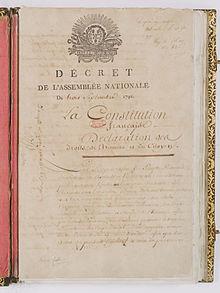 Franse grondwet van 1791