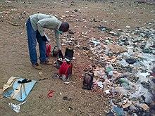 Tests de pollution au Nigeria