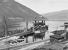 De SF Hydro bij Mæl in 1925