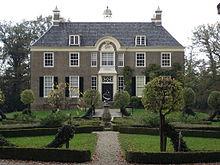 Een herenhuis in Nederland