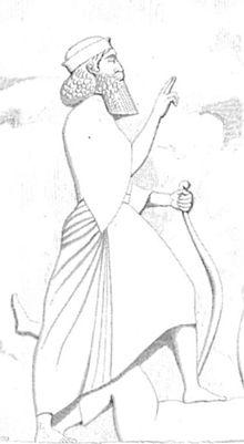 Eine Zeichnung von Darius.