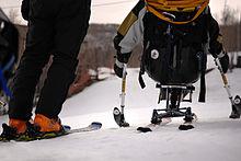 Um sit-ski